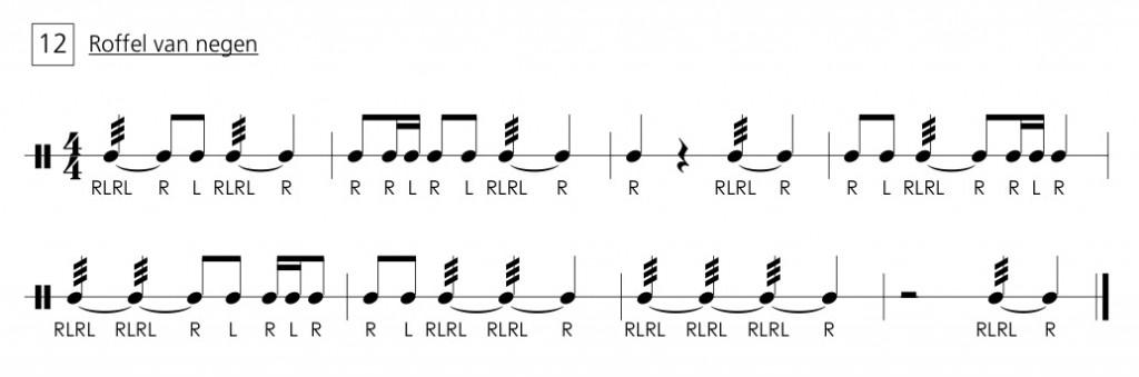 Gerommel op de trommel 12